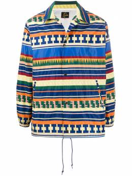 Needles куртка с геометричным принтом GL074