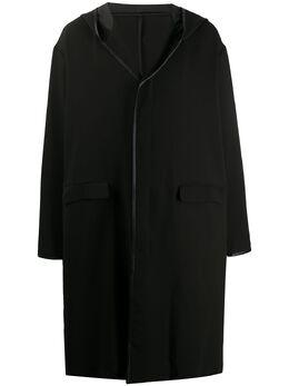 Undercover пальто оверсайз с капюшоном UCY4314