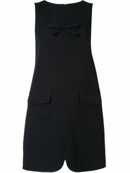 Paule Ka платье-трапеция с бантом 112R192C