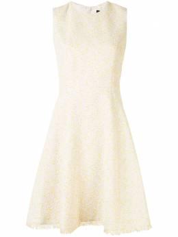 Paule Ka приталенное расклешенное платье 136R88