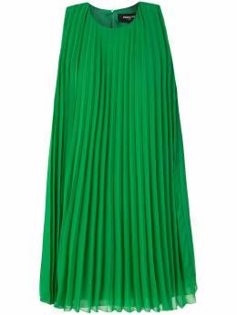 Paule Ka платье-трапеция со складками 176R50