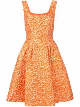 Paule Ka жаккардовое расклешенное платье Cloque 156R191