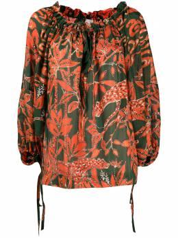L'Autre Chose блузка с цветочным принтом OK52063400