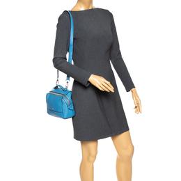Furla Blue Leather Shoulder Bag 287398
