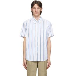 Noah Nyc Blue Stripe Studio Shirt S6SS20