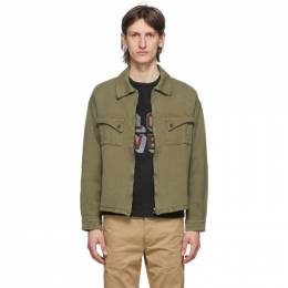 Visvim Green Haywood Jacket 0120105013027