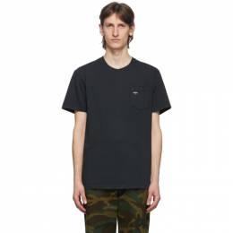 Noah Nyc Black Logo Pocket T-Shirt PT1SS20