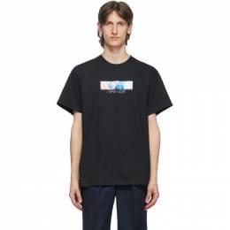 Noah Nyc Black Circa New York T-Shirt T12SS20