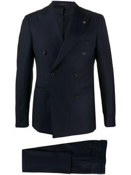 Tagliatore костюм с двубортным пиджаком 2FBR20A0106UEA289