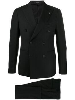 Tagliatore костюм-двойка с двубортным пиджаком 2FBR20A0106UEA289