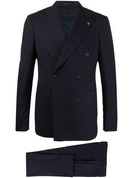 Tagliatore костюм с двубортным пиджаком 2FBR20A0108UPZ012