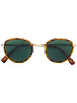 Canali солнцезащитные очки в круглой оправе C021001