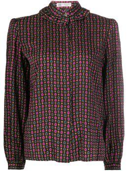 Lanvin Pre-Owned рубашка с принтом CSLM0320LANTOP