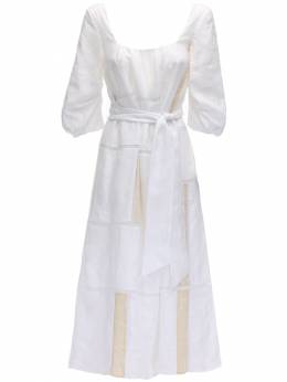 Lvr Sustainable Embroidered Linen Dress Gabriela Hearst 71IXSC012-V0hJVEVGTEFY0