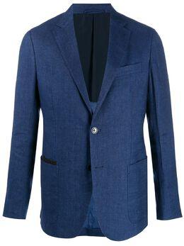 Ermenegildo Zegna однобортный пиджак узкого кроя UUC41SAF