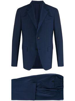 Ermenegildo Zegna костюм-двойка строгого кроя 72259420PWKL