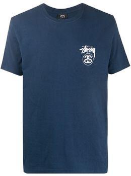 Stussy футболка с логотипом 1904515