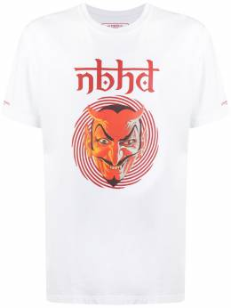 Neighborhood футболка Devil Angel с логотипом 201PCNHST05