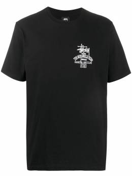 Stussy футболка Jamaica World Tribe 1904507