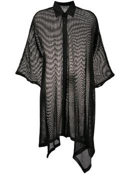 Off-White сетчатое платье OWDB239S20FAB0021045