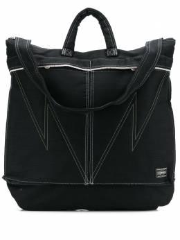 Neighborhood джинсовая сумка-тоут на молнии 201YSPTNCG02