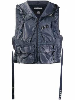 Neighborhood куртка с капюшоном и накладными карманами 201NYNHJKM03