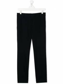 Emporio Armani Kids фактурные брюки кроя слим 3H4PJ74J38Z