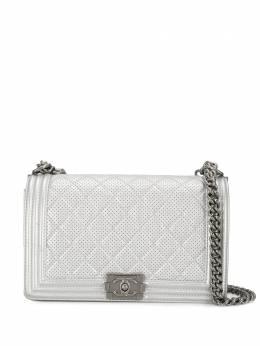 Chanel Pre-Owned сумка Chanel Boy 2014-го года ограниченной серии CHA7800