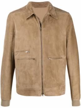 Salvatore Santoro куртка с заостренным воротником 38542U