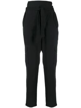 D'Exterior брюки кроя слим с поясом 50591