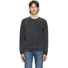 Re/Done Black Shrunken 50s Sweatshirt 071-5M50SCV