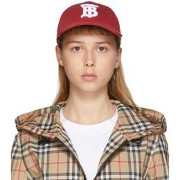 Burberry Red Logo Baseball Cap 8027834