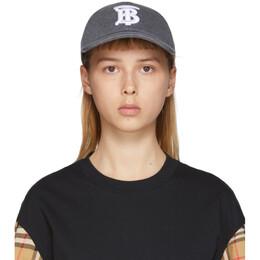 Burberry Grey Logo Baseball Cap 8028582