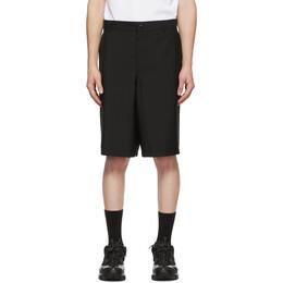 Burberry Black Cut-Out Boy Fit Shorts 4563475