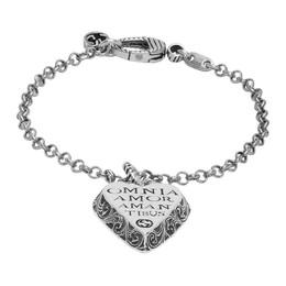 Gucci Silver Heart Shape Bracelet 621543 J8400