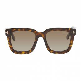 Tom Ford Tortoiseshell Sari Sunglasses FT0690