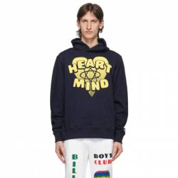 Billionaire Boys Club Navy Heart and Mind Hoodie B20254