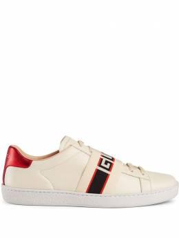 Gucci кроссовки 'Ace' с логотипом 5252690FIV0