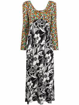 Rixo платье с цветочным принтом RIX10514220782