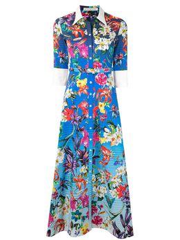 Mary Katrantzou платье-рубашка с цветочным принтом NDO46