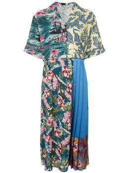 Ports 1961 платье с принтом и плиссировкой PW220DSLA3FVIP037