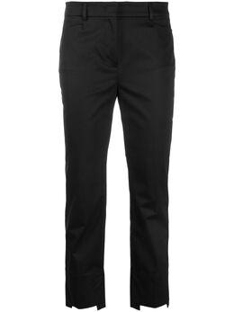 Incotex укороченные брюки строгого кроя 172761D6253
