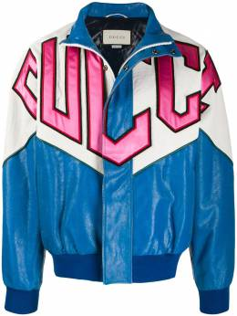 Gucci куртка-бомбер в технике пэчворк 567422XNAGR