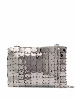 Paco Rabanne сумка на плечо Iconic 1969 Square 20PSS0144MET023