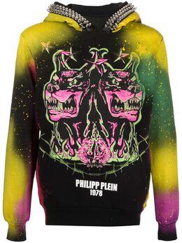 Philipp Plein худи с принтом граффити P20CMJB1914PJO002N