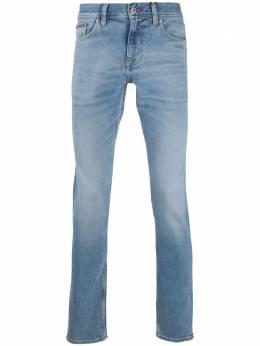 Tommy Hilfiger джинсы прямого кроя с эффектом потертости MW0MW13554