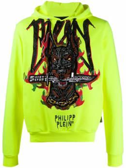 Philipp Plein худи с вышивкой P20CMJB1895PJO002N
