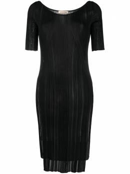 Gentry Portofino трикотажное платье в полоску D511VI