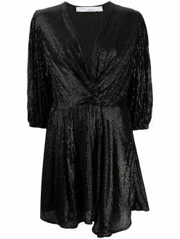 Iro платье мини с пайетками и V-образным вырезом 20SWM33GOING