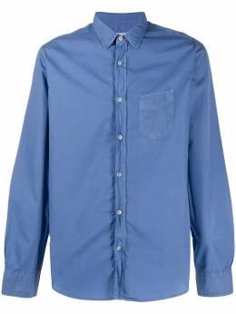 Officine Generale рубашка с длинными рукавами и карманом S20MSHI001